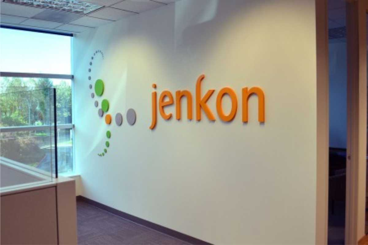 Office wall sign/ logo and lettering