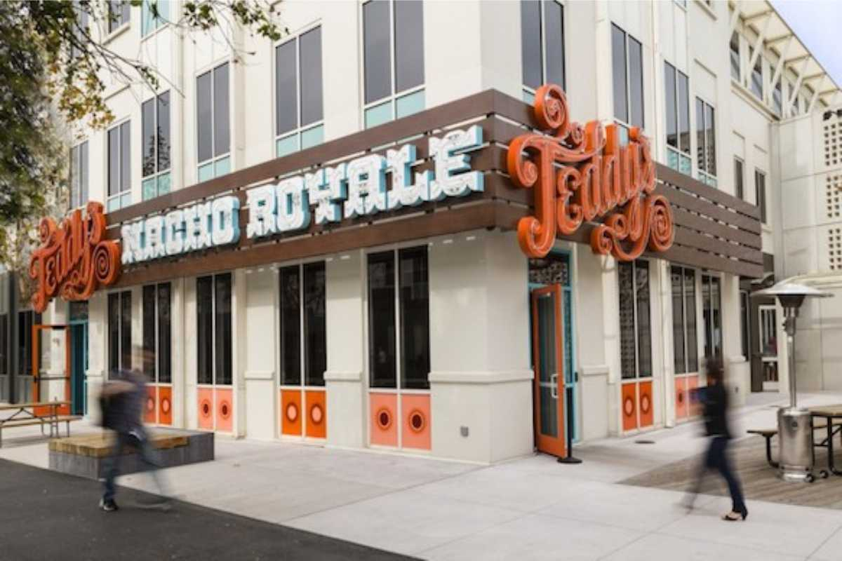 Nacho Royale Store Front with logo and sign