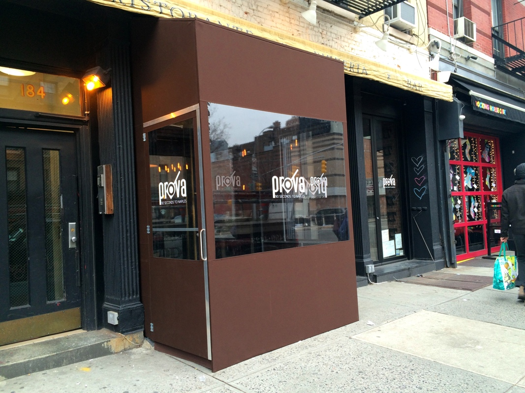 Winter Vestibule Enclosures New York City Signs And Awnings