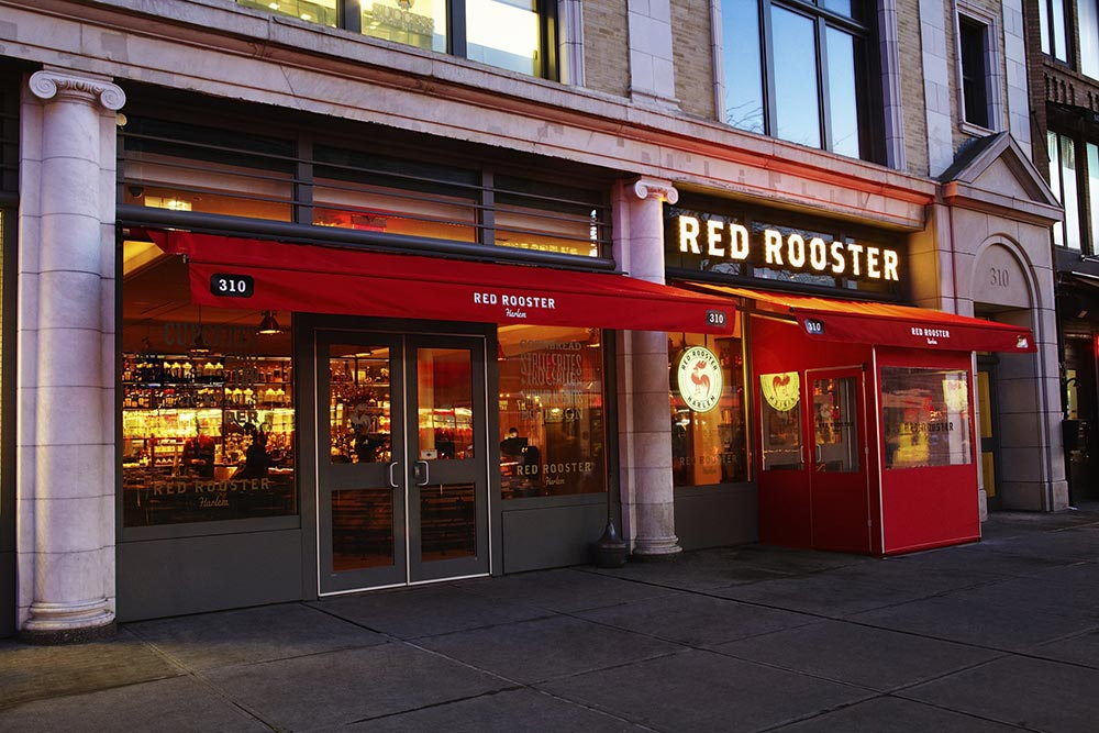 New York Sign Design Red Rooster